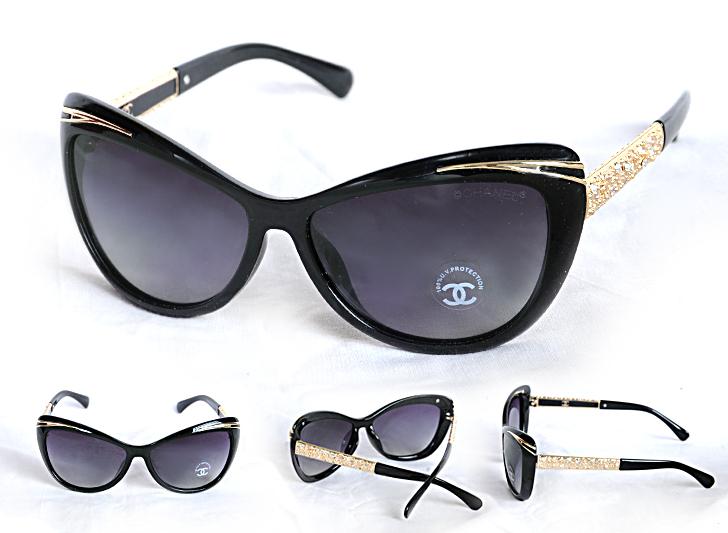 عینک آفتابی چنل 2016 نگین دار