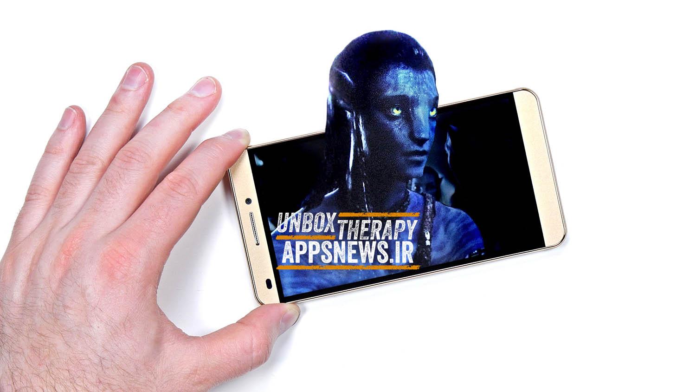 Unbox Therapy - ویدیو آنباکسینگ گوشی سه بعدی Alienline