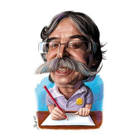 بیوگرافی احمد عربانی کاریکاتوریست مهمان خندوانه+عکس
