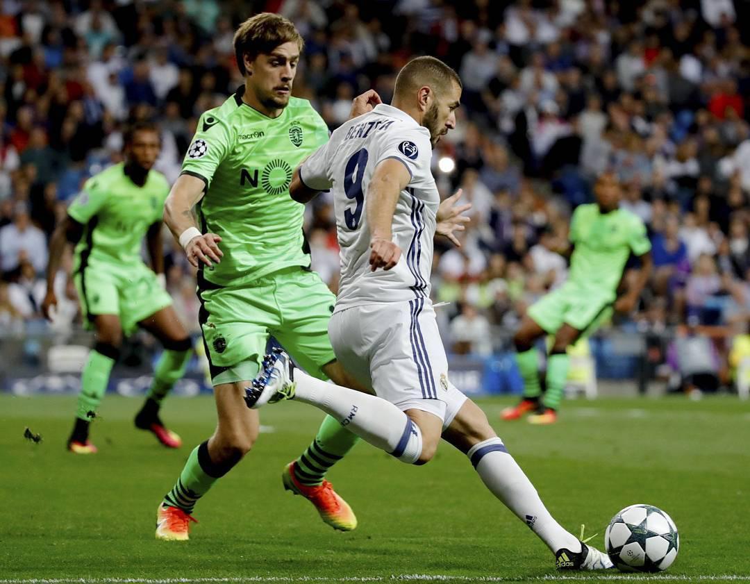 <h3>رئال مادرید 2-1 اسپورتینگ لیسبون/ از شکست تا پیروزی</h3>