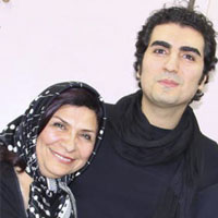 حافظ ناظری و مادرش