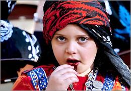 در اصطلاح محلی روسری زنان لر چه نامیده میشود؟ | گل ونی کلنجه کراس