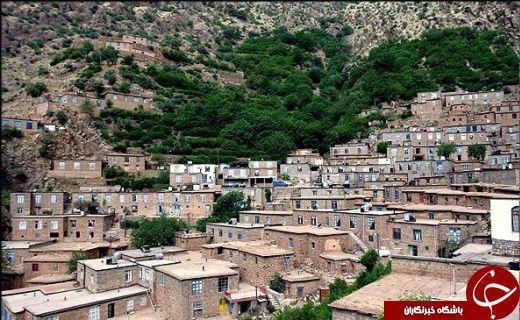 چند نفس عمیق در دل روستاهای پلکانی ایران زمین! + تصاویر