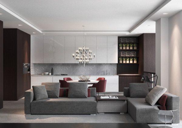 طراحی اتاق نشیمن2
