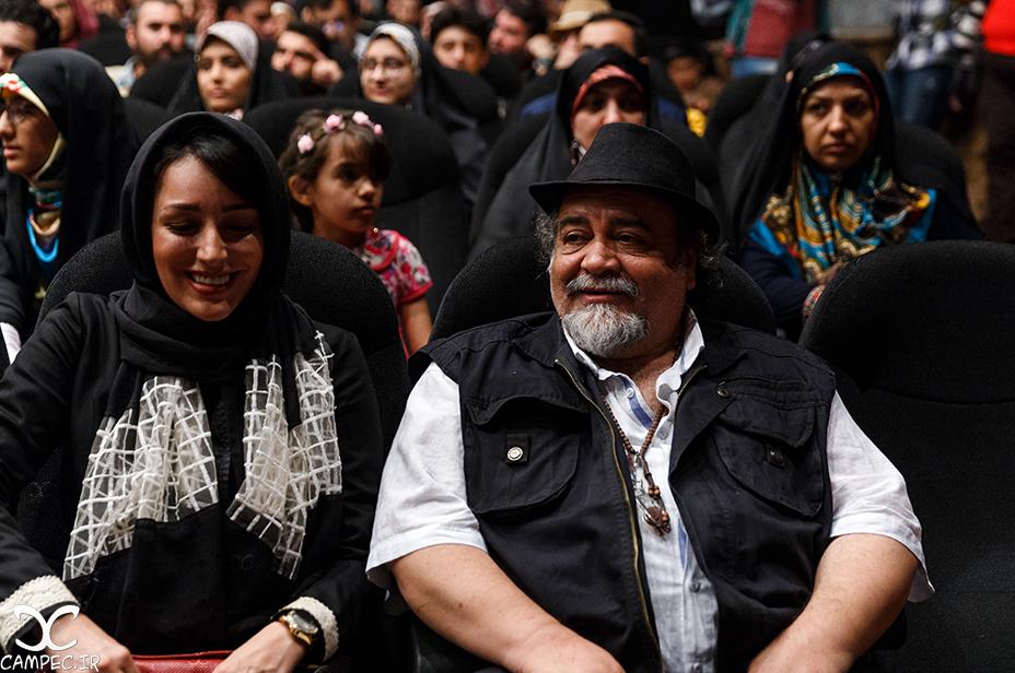 محمدرضا شریفی نیا در اکران فیلم هیهات