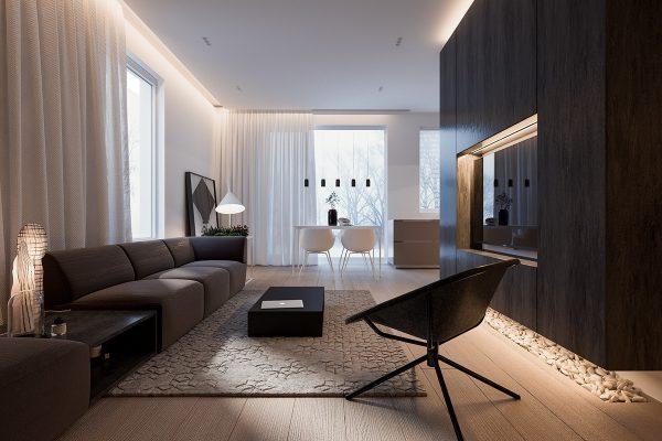 طراحی خانه مینیمال2