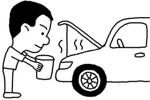 جوش آوردن خودرو در تابستان