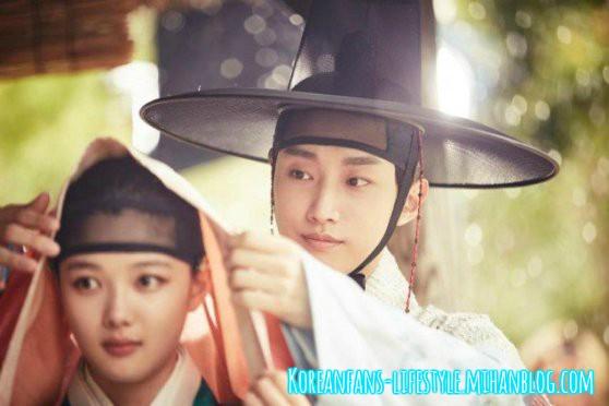 پارک بوگوم-کیم یوجونگ-جین یونگ-love in moonlight- moon light-سریال کره ای