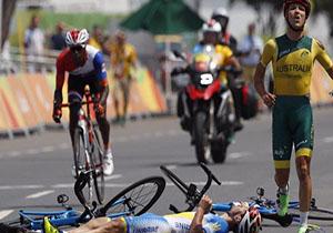 عکس و فیلم حادثه بهمن گلبارنژاد در پارالمپیک 2016 ریو+واکنش ها