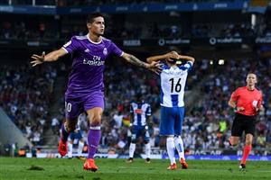نتیجه بازی رئال مادرید و اسپانیول 28 شهریور 95 | خلاصه و گلها دیشب