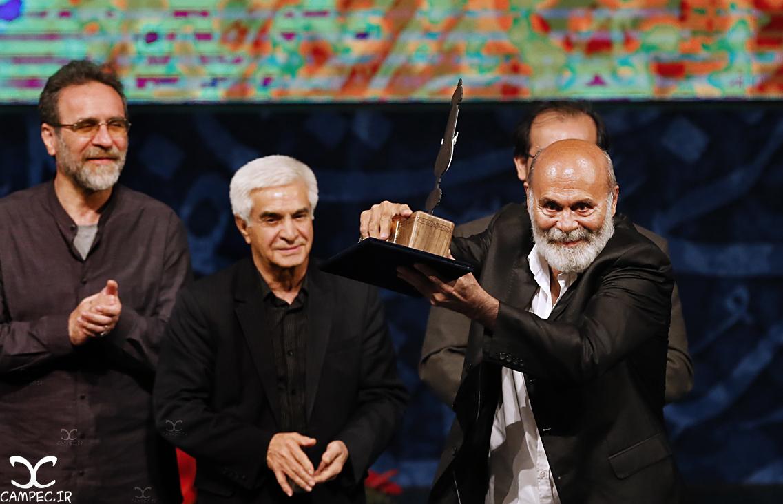 جمشید هاشم پور در دهمین جشن انجمن منتقدان سینما
