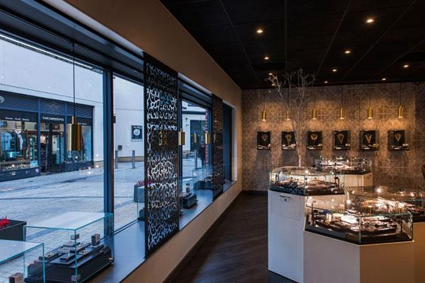 فروشگاه مغازه جواهر فروشی لوکس
