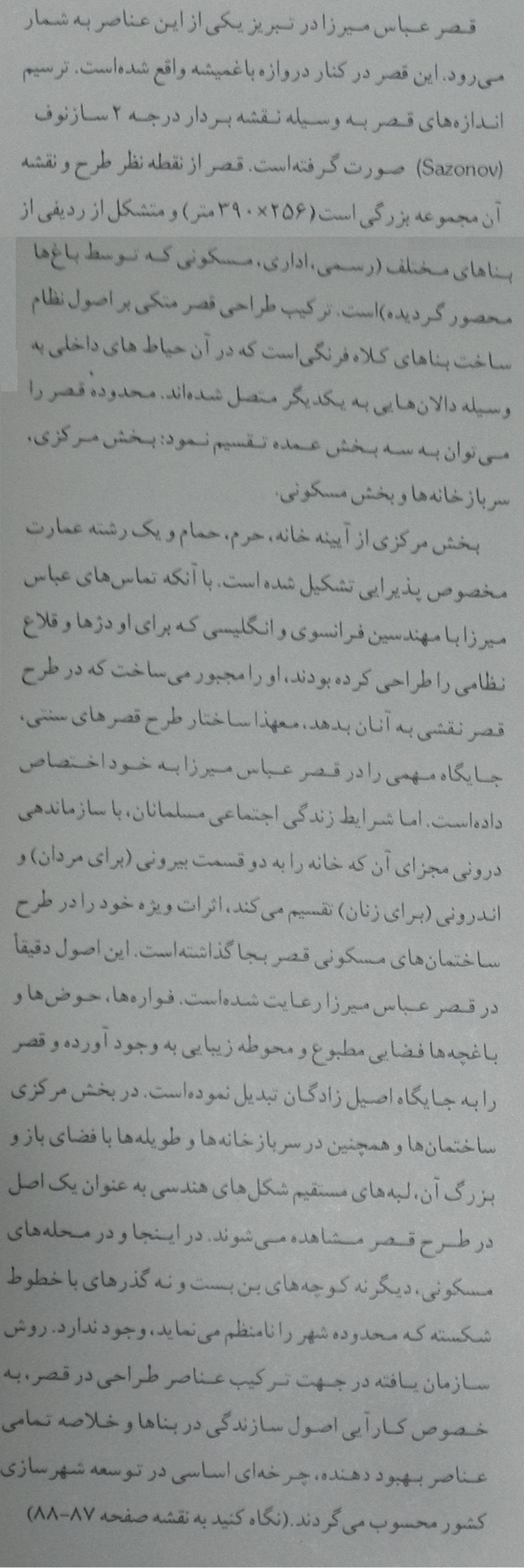 قصر عباس میرزا در تبریز