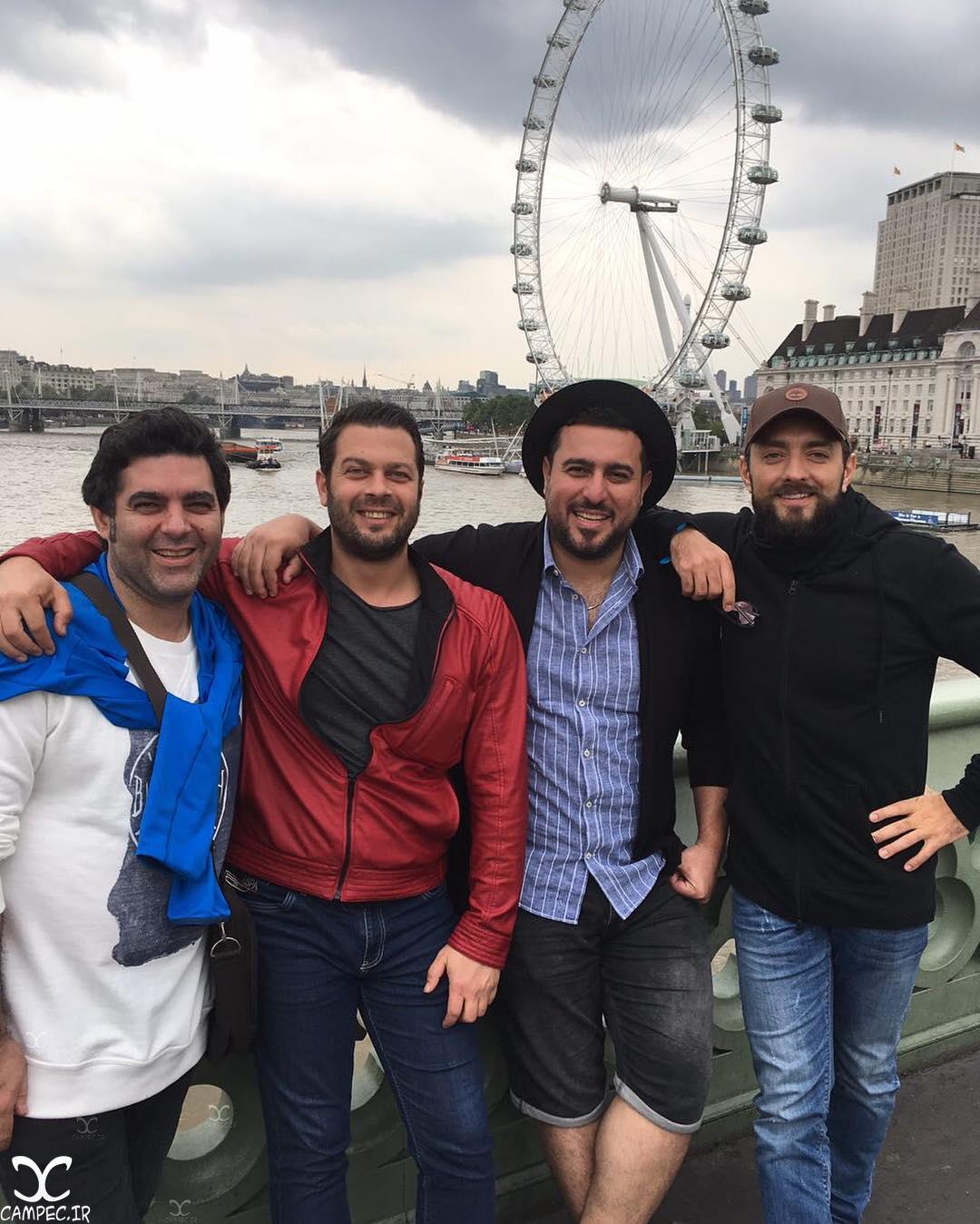 هنرمندان فیلم بارکد در لندن