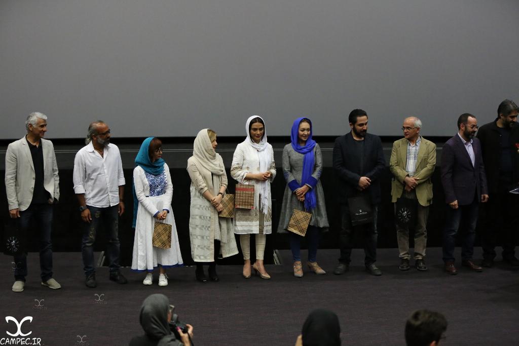 مراسم اکران فیلم ربوده شده