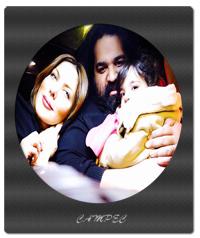 رضا صادقی با همسر و دخترش تیارا + عکسها و بیوگرافی کامل