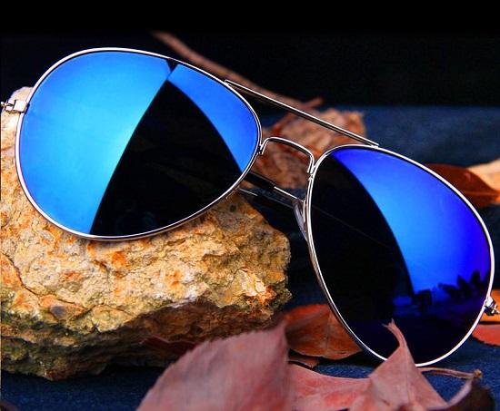 عینک آفتابی شیشه آبی مارک ریبن