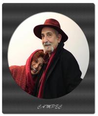 فرهاد آئیش با همسرش مائده طهماسبی + بیوگرافی و عکسها