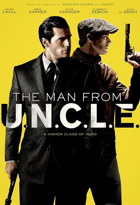 دانلود فیلم دوبله فارسی مردی از آنکل man from uncle 2015