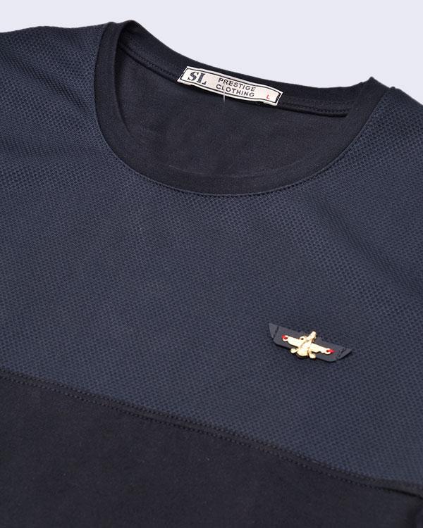خرید پیامکی تی شرت مردانه نخ پنبه مدل 1260