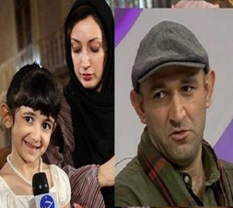 نگار عابدی و همسرش هدایت هاشمی