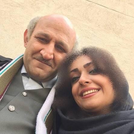 هدایت هاشمی و هسر دومش مهشید ناصری