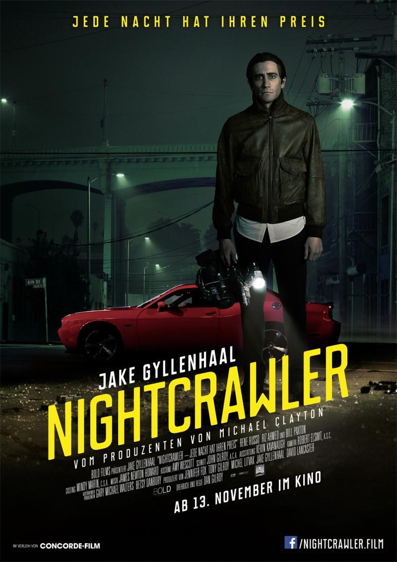 دانلود فیلم شبگرد با دوبله فارسی nightcrawler 2014
