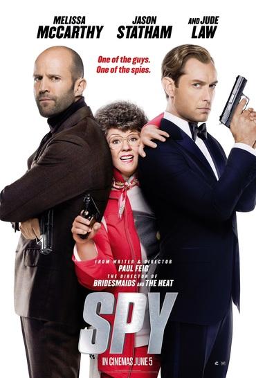 دانلود فیلم جاسوس با دوبله فارسی spy 2015