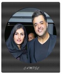 بیوگرافی و عکسهای سعید عرب با همسرش