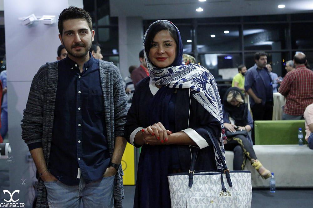 سیما تیرانداز و محمدرضا غفاری