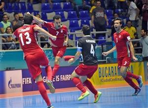 زمان ( تاریخ و ساعت ) بازی فوتسال ایران و پاراگوئه در یک چهارم نهایی جام جهانی 2016