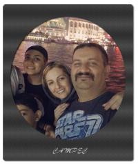 عکسهای شقایق دهقان با خانواده اش در سفر به چین