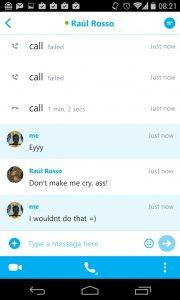 دانلود برنامه ی اسکایپ skype اندروید