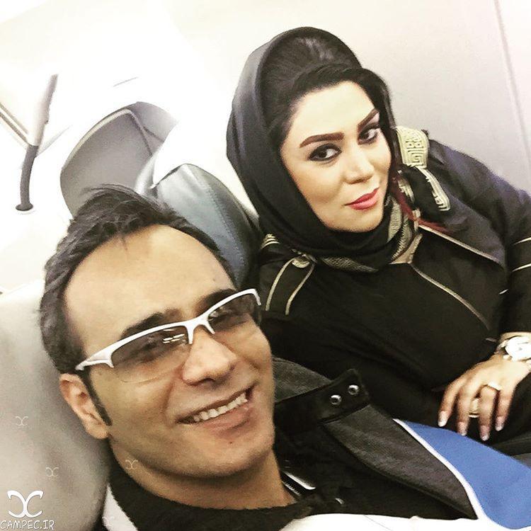 عکسها و بیوگرافی شهرام شکوهی و همسرش