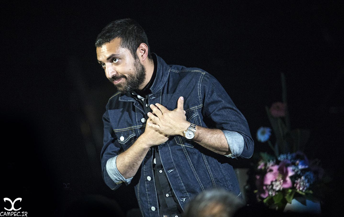 اشکان خطیبی در کنسرت سیامک عباسی