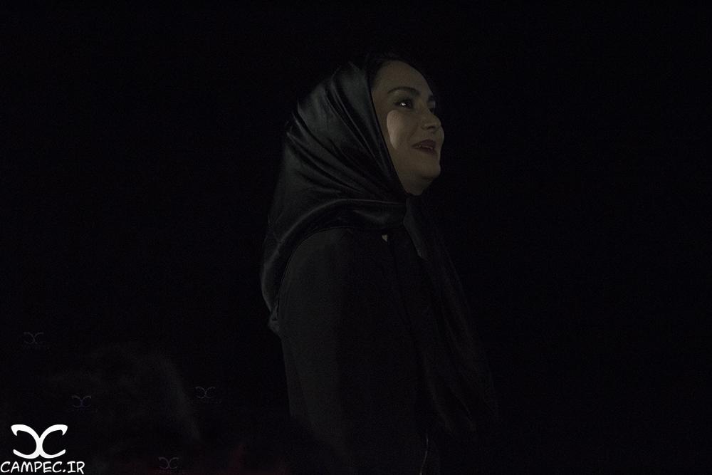 مریم خدارحمی در کنسرت سیامک عباسی