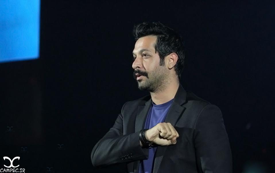 کامران تفتی در کنسرت سیامک عباسی