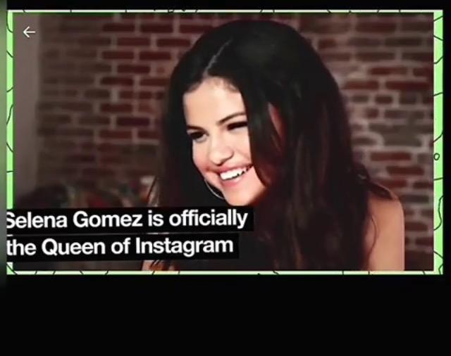 MTV News:سلنا گومز به طور رسمي ملكه اينستاگرام معرفي شد!