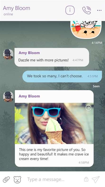 دانلود برنامه پیام رسان وایبر viber برای ویندوز فون