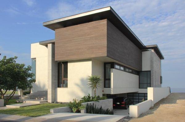 نمای مدرن ساختمان1