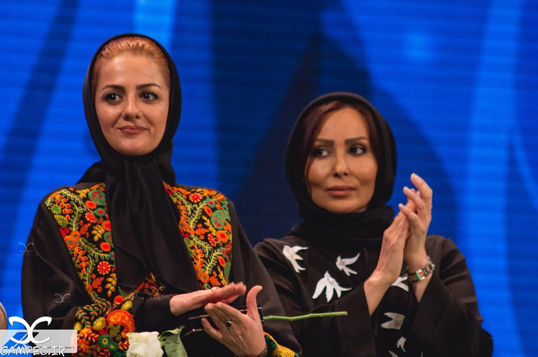 پرستو صالحی و یکتا ناصر در سیزدهمین جشن نفس