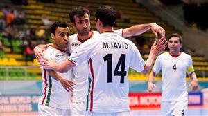 نتیجه بازی فوتسال دیشب ایران و روسیه 7 مهر 95 در جام جهانی 2016 خلاصه و گلها