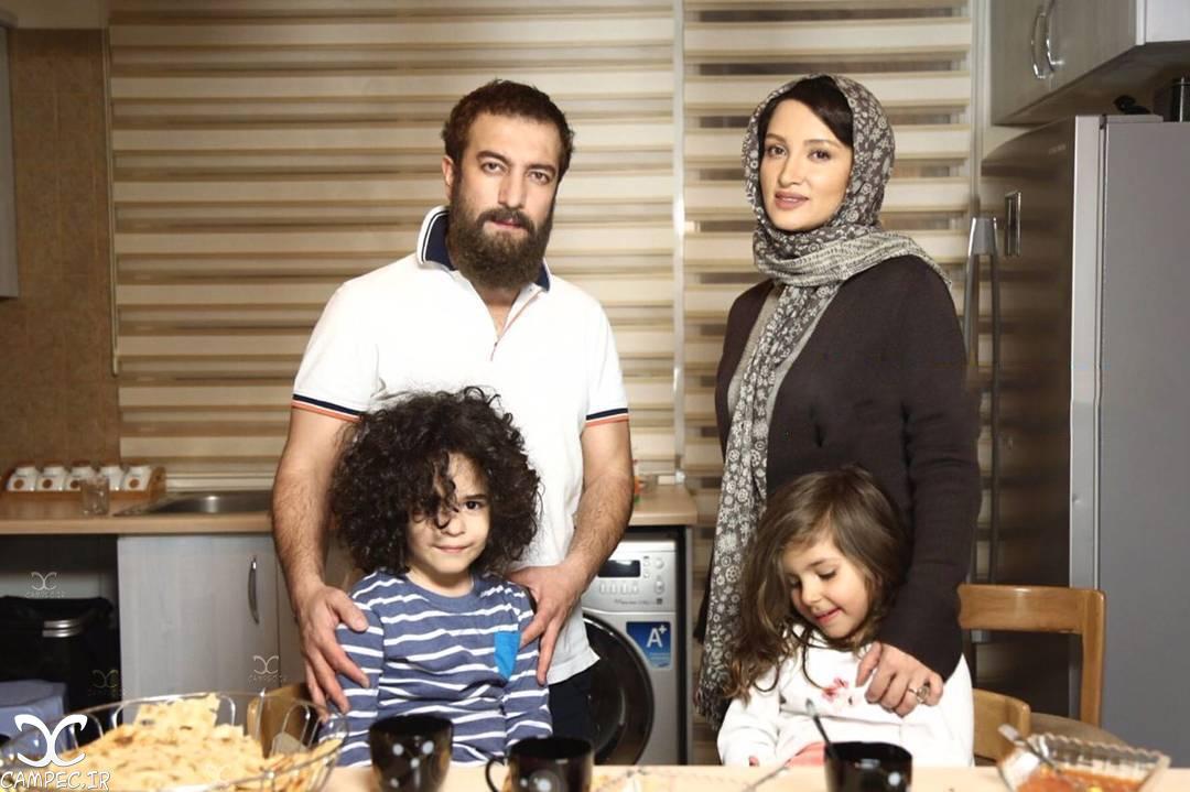 مجید صالحی و روناک یونسی در سریال آسپرین