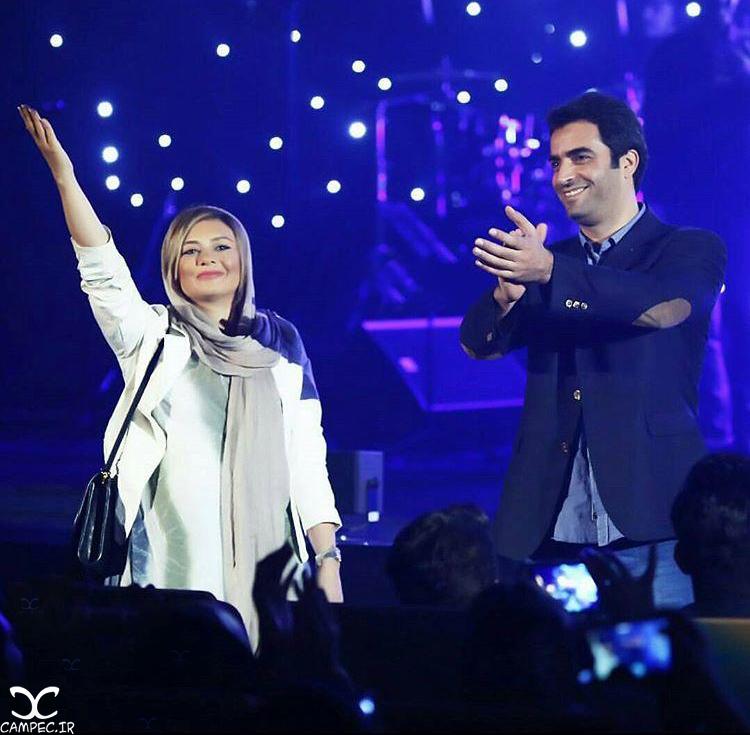 یکتا ناصر و منوچهر هادی در کنسرت فرزاد فرزین