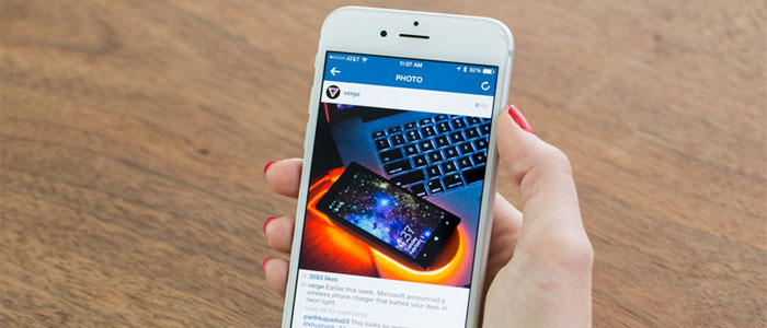 کاربران اینستاگرام در اینترنت مواظب خطرات اماکن عمومی باشد