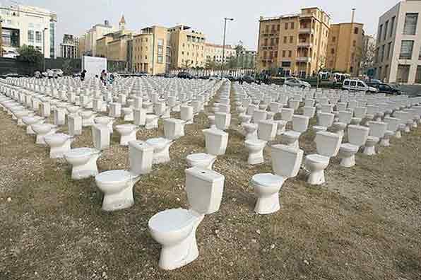 توالت ها ی (فرنگی وتوالت  مسلمانان )