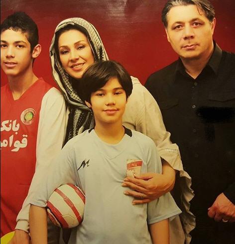 عکس آرین و عرشیا پسران نسرین مقانلو و همسرش کمال خلیلیان+بیوگرافی و ماجرای ازدواج