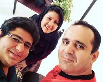 عکس حسین رفیعی و همسرش
