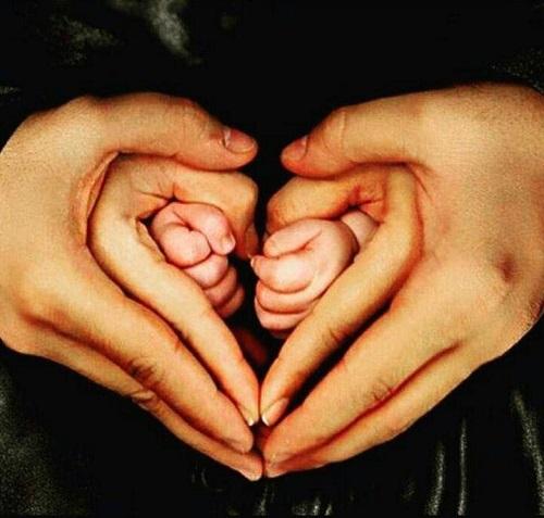 عکس اینستاپست گندم دختر آزاده نامداری و همسر سجاد عبادی+بیوگرافی