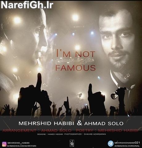 دانلود آهنگ معروف نیستم از احمد سلو با کیفیت 128 و 320
